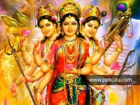 Durga Lakshmi Saraswati Astottaram