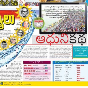 Online Pandit Booking for Krishna Pushkaras Article by Sakshi