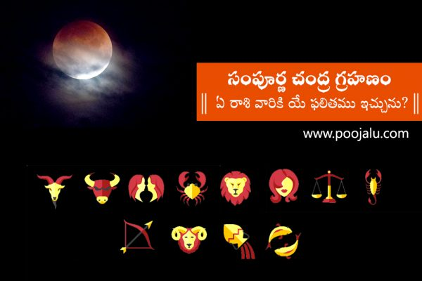 Effects of Lunar Eclipse on Zodiac Signs