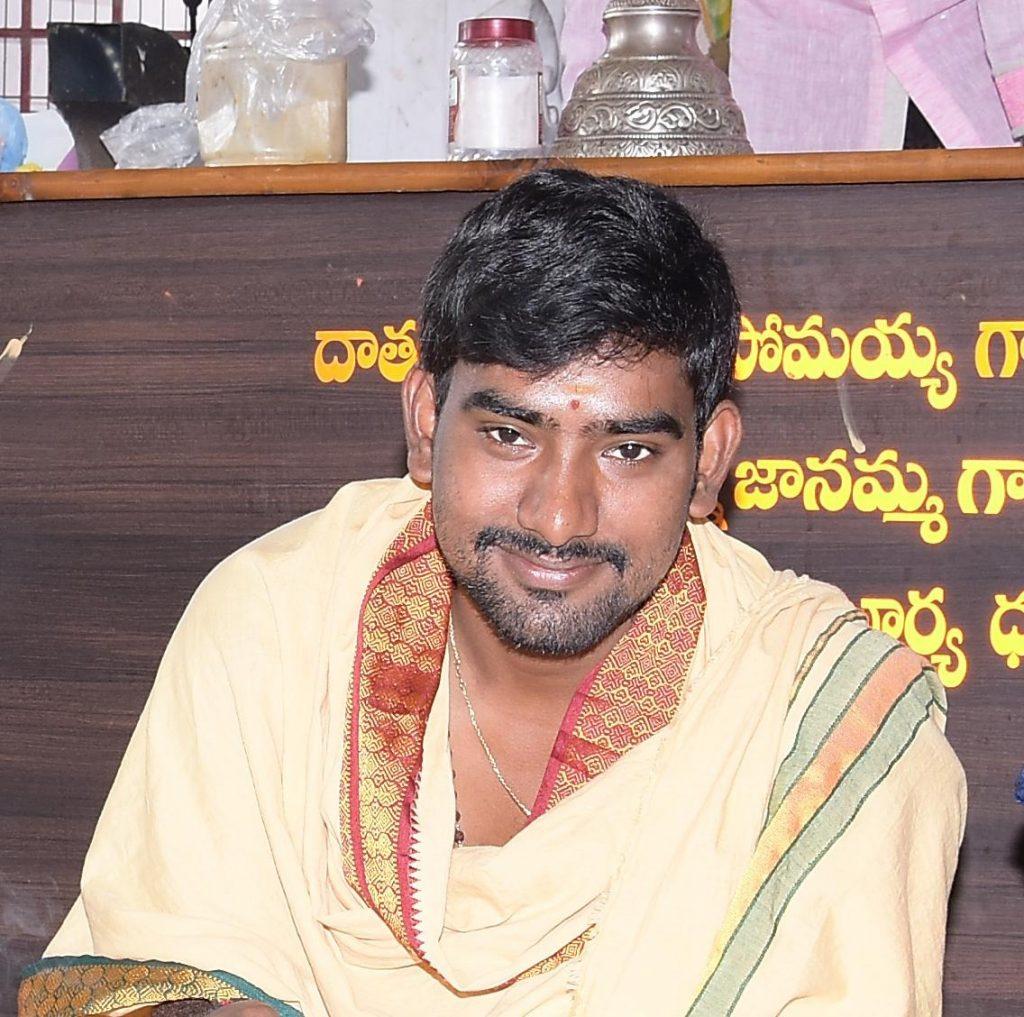 Pandit Sugandhama SaiKumar Sharma_Pandit